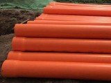 太原电力管道CPVC管外径110和160冀盛通达管业现货