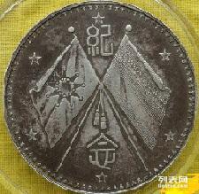 圜钱袁大头光绪元宝开国纪念币双帆币鉴定出手