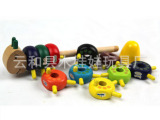 小额混批 木童玩具 毛毛虫数字棒 儿童益智早教 数数棒 早教玩具
