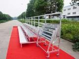 专业生产铝合金折叠合唱台 钢铁弧形合影站架批发
