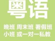 深圳龙华粤语培训