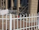 制作各种铁艺门锌钢护栏pvc护栏塑钢护栏
