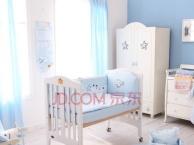 芙儿优白色婴儿床