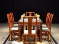 缅甸花梨餐桌图片欣赏