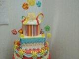 学做翻糖蛋糕韩式裱花欧式陶艺蛋糕培训找音画微商创业