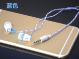仟佰亿XK0037入耳式线控耳机手机电脑带咪带麦克风重低音