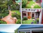 别墅花园设计施工,园林景观工程,防腐木景观工程