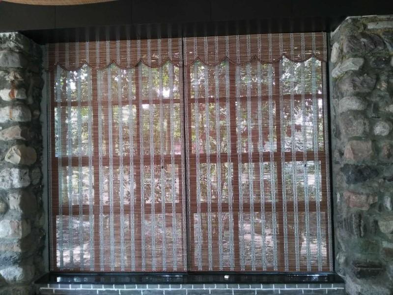 锦江区窗帘定做 督院街定做办公遮阳卷帘铝百叶窗帘