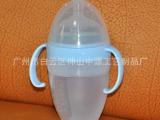 婴儿奶瓶 母婴硅胶奶瓶 宽口径防爆防摔防
