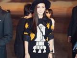 2014秋季新款明星同款 杨颖同款毛衣针织衫 秋冬毛线上衣