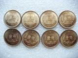 大连收购纪念币,人民币银行发型四十周年纪念币建行