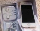 自用的苹果iphone5s金色国行电话