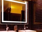 浴室防雾镜led灯壁挂镜玻璃透光镜厂家