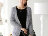 2013毛衣新款韩国代购大码开衫女装长袖