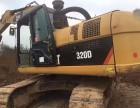 二手挖掘机卡特320D 11年精品车