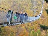 景区玻璃栈道吊桥 悬索桥设计安装 定制