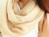 淘宝热卖秋冬纯色棉质情侣款男女两用围脖围巾批发代发