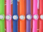 供应优质硅胶拍拍表 儿童休闲手表 硅胶带 硅胶表