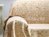 厂家直销 提花窗帘布面料批发 新款涤棉欧式沙发布面料 海贝黄