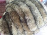 厂家批发定做澳毛条羊毛毛条仿貉子毛领灰色