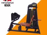 坐式蹬腿训练器 运动力量健身器械 健身房健身器材 可定制