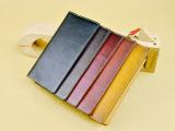 新款牛皮植鞣皮多功能卡包卡套长款钱包手拿