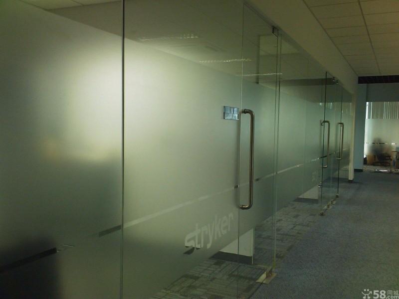 办公玻璃贴膜 隔热防爆膜 透明膜玻璃膜