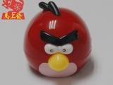 卡通插卡MP3 愤怒的小鸟插卡夹子 儿童礼品 热销可爱卡通MP3