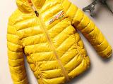 亮皮免洗童装羽绒棉衣棉袄外套 2015秋冬儿童羽绒棉衣服儿童棉衣