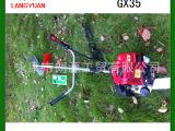 GX35本田140F割草机 小型收割机 侧挂割灌机 四冲程割草机