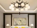 安顺市青龙中式灯 法式铜灯 酒店欧式吊灯