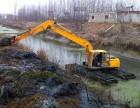 东菀市中国厦工215型水上挖机出租水挖租赁低价推荐