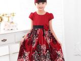 新款 儿童礼服裙女童表演演出服