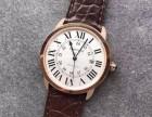 张家港卡地亚手表Cartier回收积家大师手表