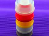 多功能 便携式可旋拆5层奶粉罐  多层次 可自选层级