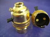 GP091铜灯头进口铜灯头B22铜灯头