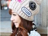 经典冬款针织帽 三标球球帽 时尚情侣款 毛线帽子