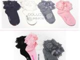 2015韩国正品进口博璐锦儿童袜蕾丝纯色印花童袜透气厂家现货批发