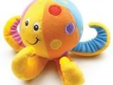 德国TOLO章鱼/八爪鱼摇铃玩具 铃声清脆婴儿益智玩具
