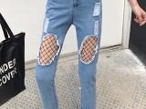 供应江苏10元牛仔裤批发 哪里有便宜天丝牛仔裤女薄款