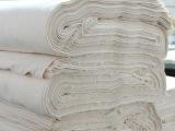 批发口水巾全棉胚布漂白纯棉布束腹带胚带纯棉印花纱布雪纺坯布