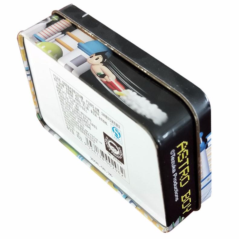 奶油糖铁盒 梯形铁盒 马口铁食品礼盒