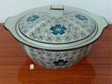 厂家直销日韩手绘陶瓷餐具 日式和风仿古大汤锅 装汤水器皿