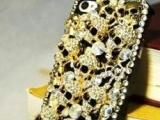 骷髅头镶钻iphone4/4S手机壳保护套水钻满钻保护套
