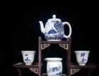 手绘瓷画茶具