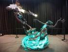 上海游戏人物玻璃钢彩绘雕塑制作
