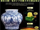 元青花瓷鬼谷子下山罐由景德镇官窑陶瓷研究中心全程督造