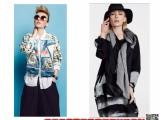 欧E时尚大牌黑白女装专柜女装尾货品牌折扣批发价格