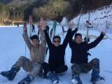 武汉冬天咸宁太乙温泉团建,武汉周边滑雪拓展-九宫山团建