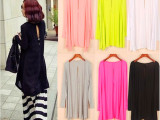 2014夏季爆款韩版莫代尔中长款长袖防晒开衫超薄修身披肩外套燕尾